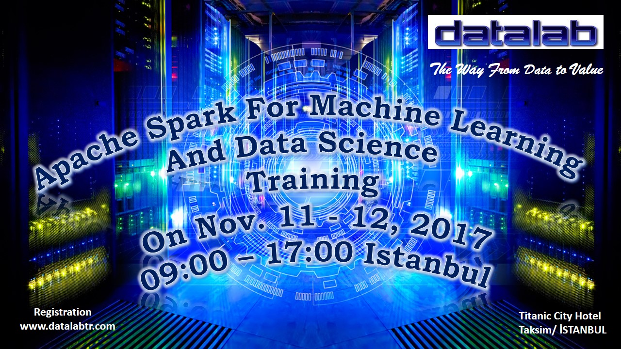 Apache Spark For Machine Learning and Data Science Training