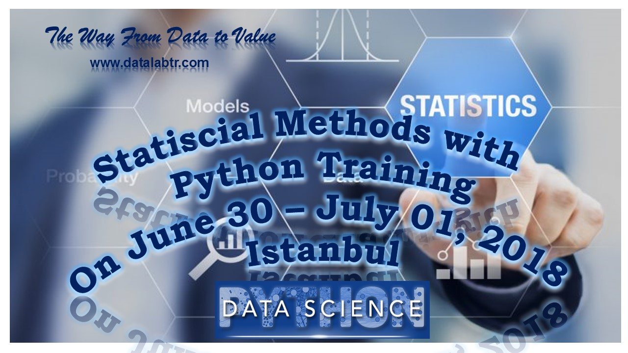 Statiscial Methods with Python Training
